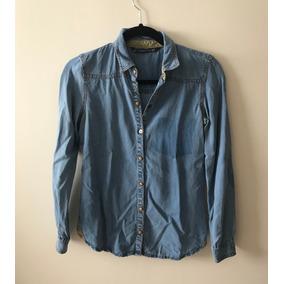 Camisa Mezclilla Zara