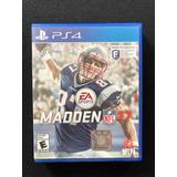 Madden 17 Nfl Playstation 4