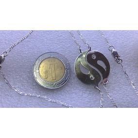 $550 Yin Yang Par Esclava Plata Ley.950 + Dhl Express