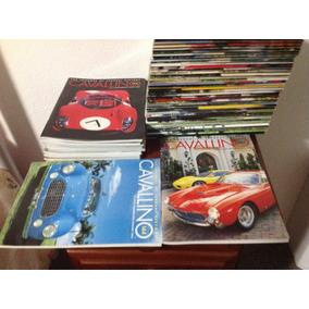 59 Exemplares Da Revista Cavallino 96 A 155