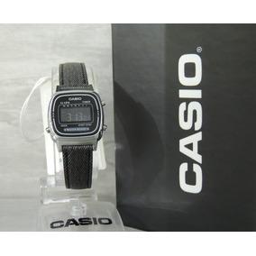 0bd4a55fb55 Relógio Casio Vintage Mini Black Jeans La670wl-1bdf ( N F )