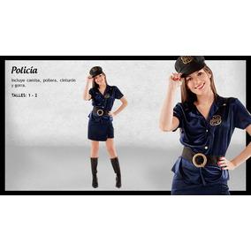 Disfraz Mujer Policia Candela - Disfraces para Adultos en Mercado ... edbfd0fddb2