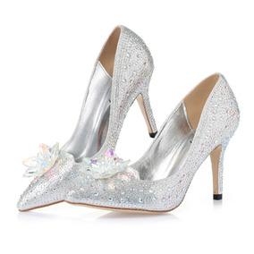 9f5a20c3d Sapato Debutante Cristal Preto - Sapatos Prateado no Mercado Livre ...