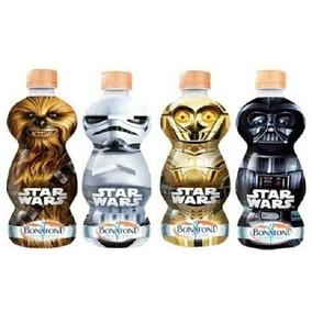 Garrafa Água Star Wars Darth Vader Stormtrooper C3po Chewbac