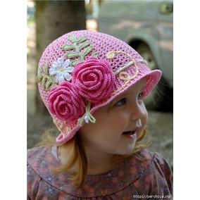 Bellos Sombreros Tejidos Para Ninas - Ropa a8989feb8da