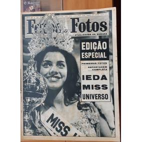 Revista Fatos E Fotos - Miss Universo - Ieda Vargas
