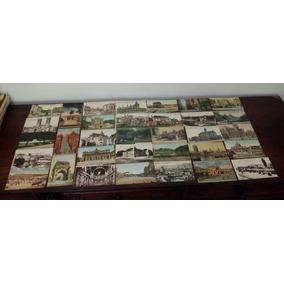 Antigos Cartões Postais Europeus Lote Com 33 Não Circulados