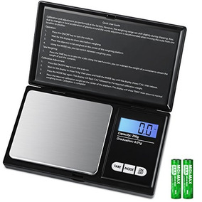 Amir Mini Escala 200g 0.01g0.001oz Pocket Escala Joyería D