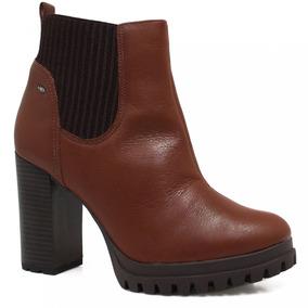 2e5eaec90 Bota Chelsea Feminina Salto Vizzano - Sapatos no Mercado Livre Brasil