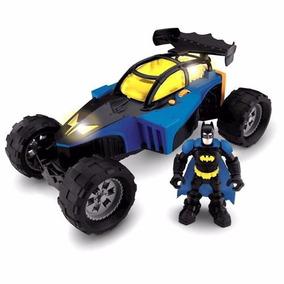 Imaginext Veículo Batmóvel Com Luz E Som Fisher Price E