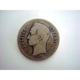 Moneda Estados Unidos De Venezuela 1935 De Plata