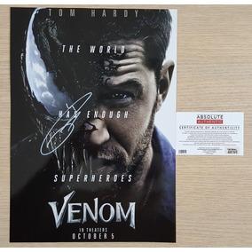 Venom Poster Autografado Por Tom Hard