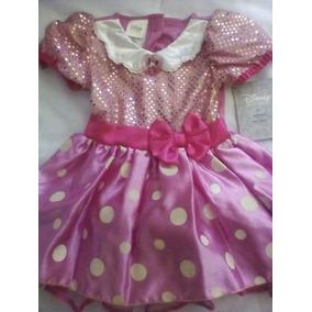Disfraz Vestido Rosa Mimi Minnie Mouse Disney Talla 2-3 Años