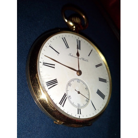 Relógio Iwc Em Ouro 18k Impecável Trocas Rolex Omega Cartier