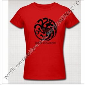Playera Game Of Thrones House Targaryen Fire And Blood Okzr