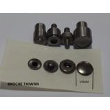 100 Broches Taiwan 15mm Con Juego De Dados De 4 Piezas