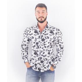 Camisa Floral Ellus - Camisa Masculino no Mercado Livre Brasil 4658655e8f