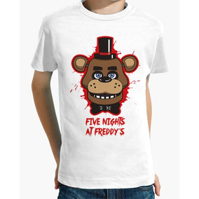 Playera Video Juego Five Nights At Freddy