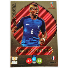 Cards Copa 2018 Adrenalyn Limited Edition Pogba França