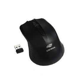Mouse C3tech M-w20bk Sem Fio Nano Receptor Preto