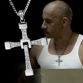 Colar Cruz 100% Aço Dominic Toretto Filme Velozes E Furiosos