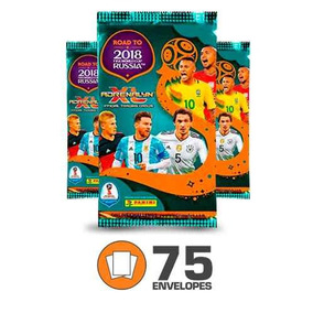 Cards Adrenalyn Xl - World Cup Rússia 2018 - 75 Envelopes
