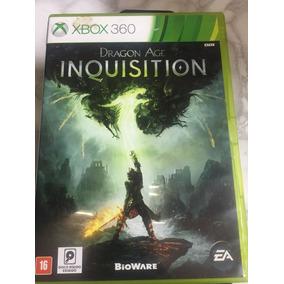 Jogo Seminovo Dragon Age Inquisition Para Xbox 360