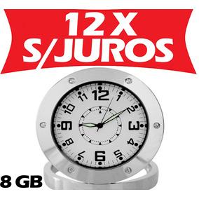 e85dff2f669 Relógio Mini Câmera Camuflada Espionagem Discreta Oculta 8gb ...