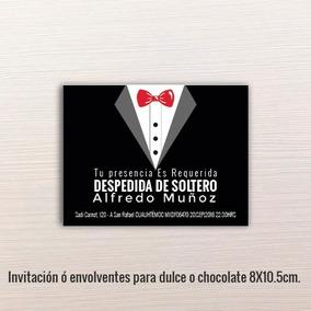 24 Pz - Invitaciones - Despedida De Solteros // 8x10.5cm.