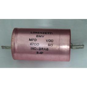 Capacitor Eletrolitico Axial 4700uf 50v Lorenzetti Raridade