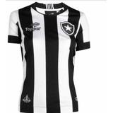 Camiseta Feminina Do Botafogo Tradicional - Personalizada f7c39b2e31239