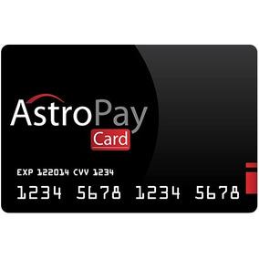 Cartão Card Astropay Brl