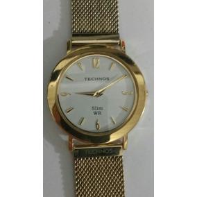 Relogio Technos 1l22 Dn Slim Unissex - Relógios De Pulso no Mercado ... 507095a3ed