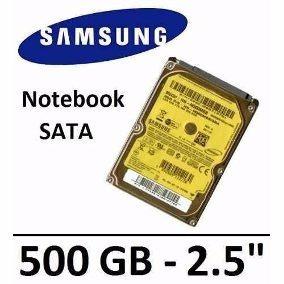 Hd De Notebook Sansung 500gb