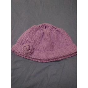 Touca De Croche Lilas. b2b01baa23f