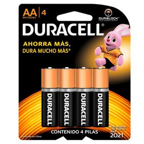 3 Paquetes Pila Duracell Alcalina Aa Con 4 Pilas C/u