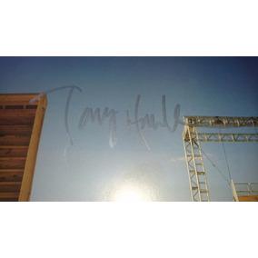 Poster Autografado Tony Hawk Skate !! Em Prata Unico No Ml