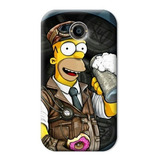 Forros Htc One X One S Simpson Homero Lisa Bart Maggie