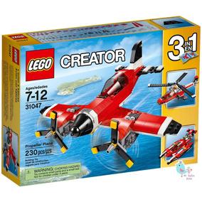 Lego Creator Avion Con Helices 230 Piezas 31047