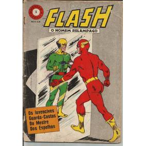 Revista Flash 1968 O Homem Relâmpago Nº 5