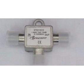 Kit 50x Peça Tap 12 Db Nanosat Tv Cabo 5-100mhz (eto11s12)