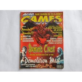 Revista Ação Games N° 75 Editora Azul