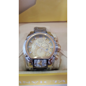 Relógio Invicta Zeus Bolt Magnum Prata/dourado Completo