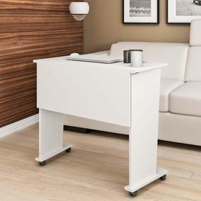 Mesa Com Rodízio Para Escritório Me4117 - Tecno Mobili