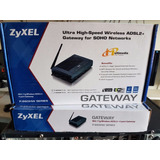 Modem Adsl Zyxel Lan 4 Puertos Ethernet