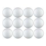 Pelota De Golf En Paquete Blanco De 12 Paquetes