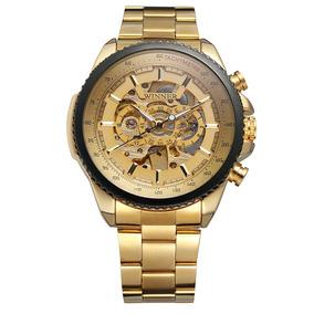 4e1abdc609ef Winner 428 Hombres Reloj Semi -automático Mecánico Reloj T