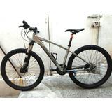 Bicicleta Italiana Bianchi Kuma 9v. 27.2 Rockshox