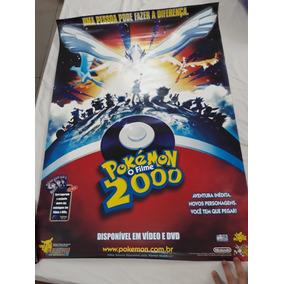 Poster Pokémon 2000 O Filme Locadora