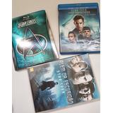 Lote Box Star Trek Next Blu-ray Dvd Original Importado